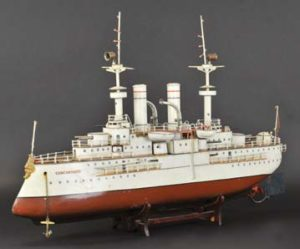 Battleship Cincinnati circa 1912 1915