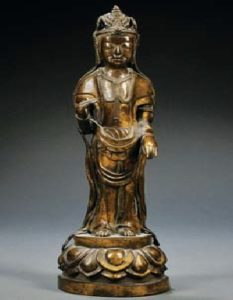 Bronze of Kannon Japan 19th 20th century