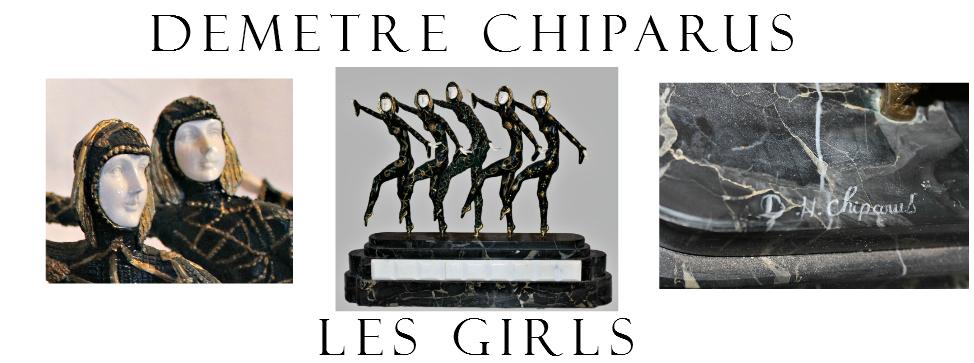 DEMETRE CHIPARUS Les Girls