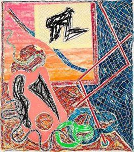 Frank Stell Offset Lithograph