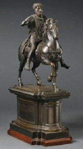 Grand Tour bronze of Marcus Aurelius Rome 19th century