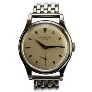 Patek Philippe from the 1950s Stainless Steel Watch