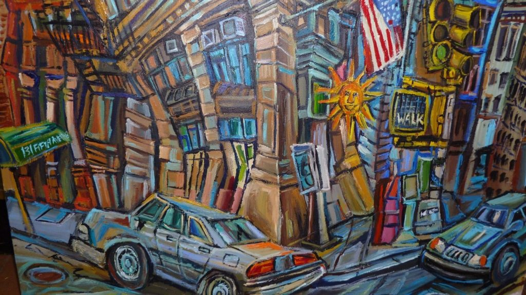 Alan Streets Oil Painting